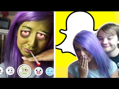 NEW Snapchat Lenses (iPad Footage)