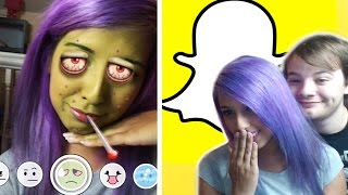 NEW Snapchat Lenses (iPad Footage) thumbnail