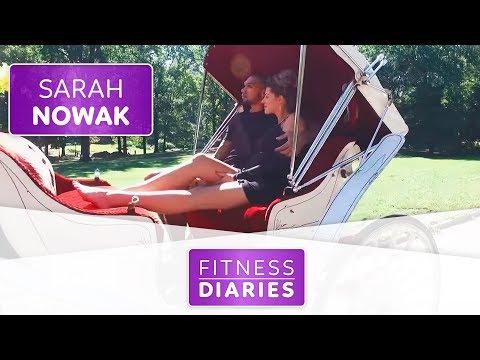 Hochzeitsvorbereitungen im Central Park   Sarah Nowak l Folge 11 l Fitness Diaries