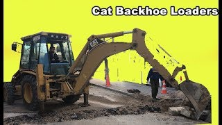 CAT VS JCB 3 CX BACKHOE LOADERS STUDİES