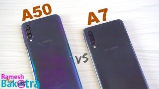 Download Video Samsung Galaxy A50 vs Galaxy A7 2018 SpeedTest and Camera Comparison MP3 3GP MP4