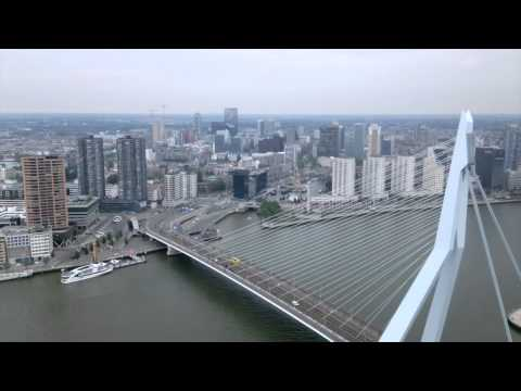 One day at the 38th floor of The Rotterdam