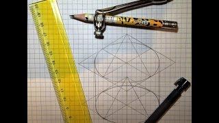 Изометрическая проекция цилиндра. Чертим вместе.