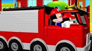 Мультики где Микки Минни стали пожарными! Мультфильмы для детей!
