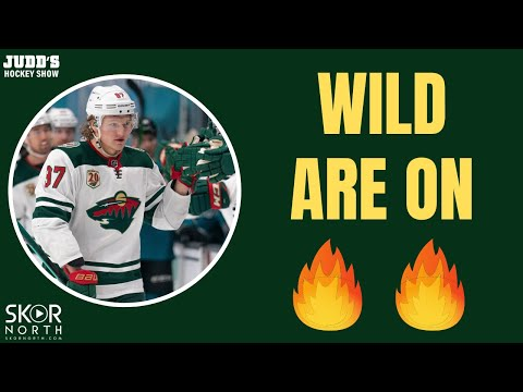 Kirill Kaprizov and Kaapo Kähkönen are delivering for Minnesota Wild