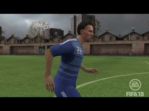 FIFA 10 - Franck Ribery - France - Arena - Game Face