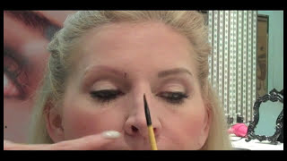 Christi Harris Precision Brow Planing Tutorial #1