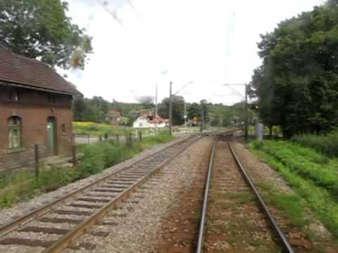 Cabview Live Wałbrzych Miasto - Świebodzice EN57 Linia kolejowa 274