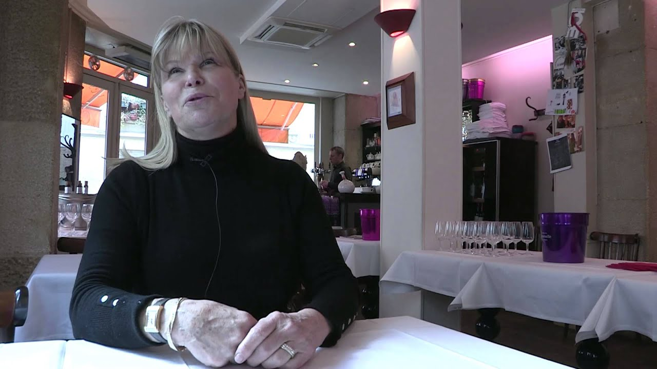 Interview de ghislaine arabian jury de top chef dans son restaurant les pet - Ghislaine arabian restaurant ...