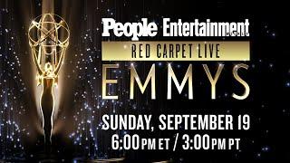 🔴 2021 Emmy Awards: Red Carpet Live | September 19, 6PM ET | PEOPLE