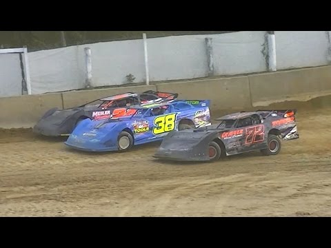 ULMS Super Late Model Heat Two | Old Bradford Speedway | 8-7-16