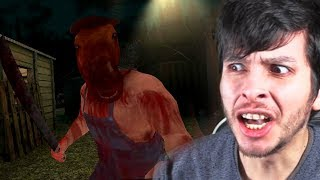 EL HOMBRE CABEZA DE CABALLO ME PERSIGUE !! - HeadHorse (Horror Game)