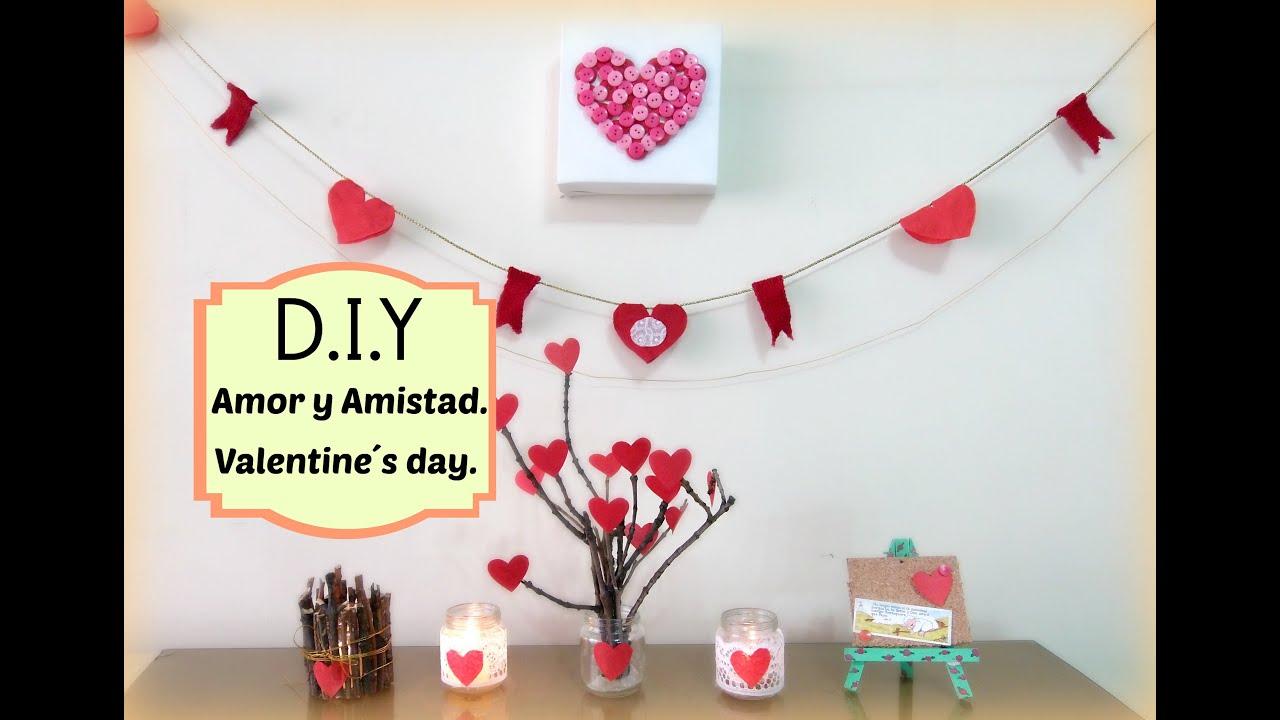 Diy amor y amistad decora decoration for valentine 39 s day for Decoracion amor y amistad oficina