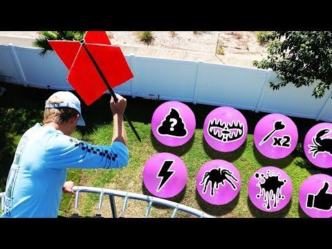 GIANT Dart vs Secret Mystery Balloons!! (DONT Pick the Wrong Balloon)