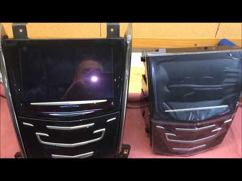 How to replace the factory CUE screen on a 2013 – 2016 Cadillac ATS
