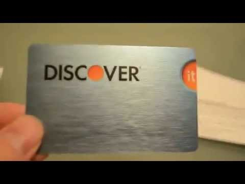 Discover Credit Card/ $50 Cashback Bonus when you sign up!!!!