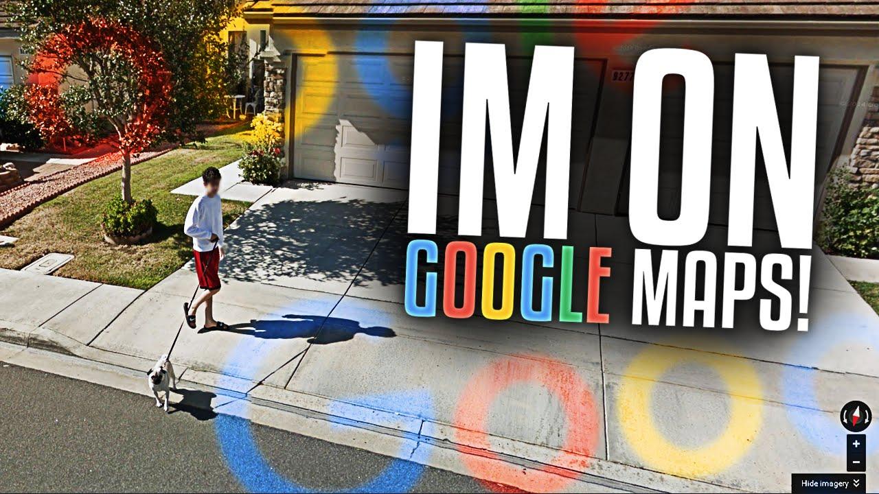 I\'M ON GOOGLE MAPS | FaZe Rug - YouTube