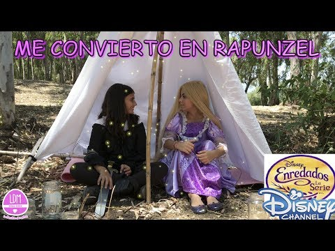 ME CONVIERTO EN RAPUNZEL/DISNEY CHANNEL/ LA DIVERSION DE MARTINA