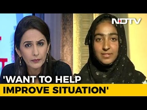 'Want Protests To End In Valley': Kashmiri Student To NDTV