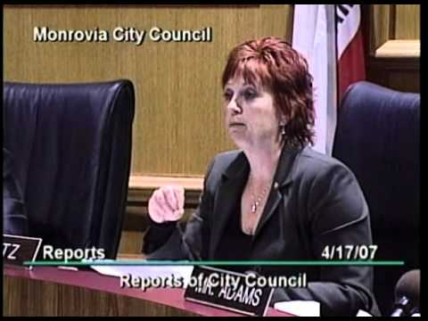 April 17, 2007 | Monrovia, CA | City Council Meeting
