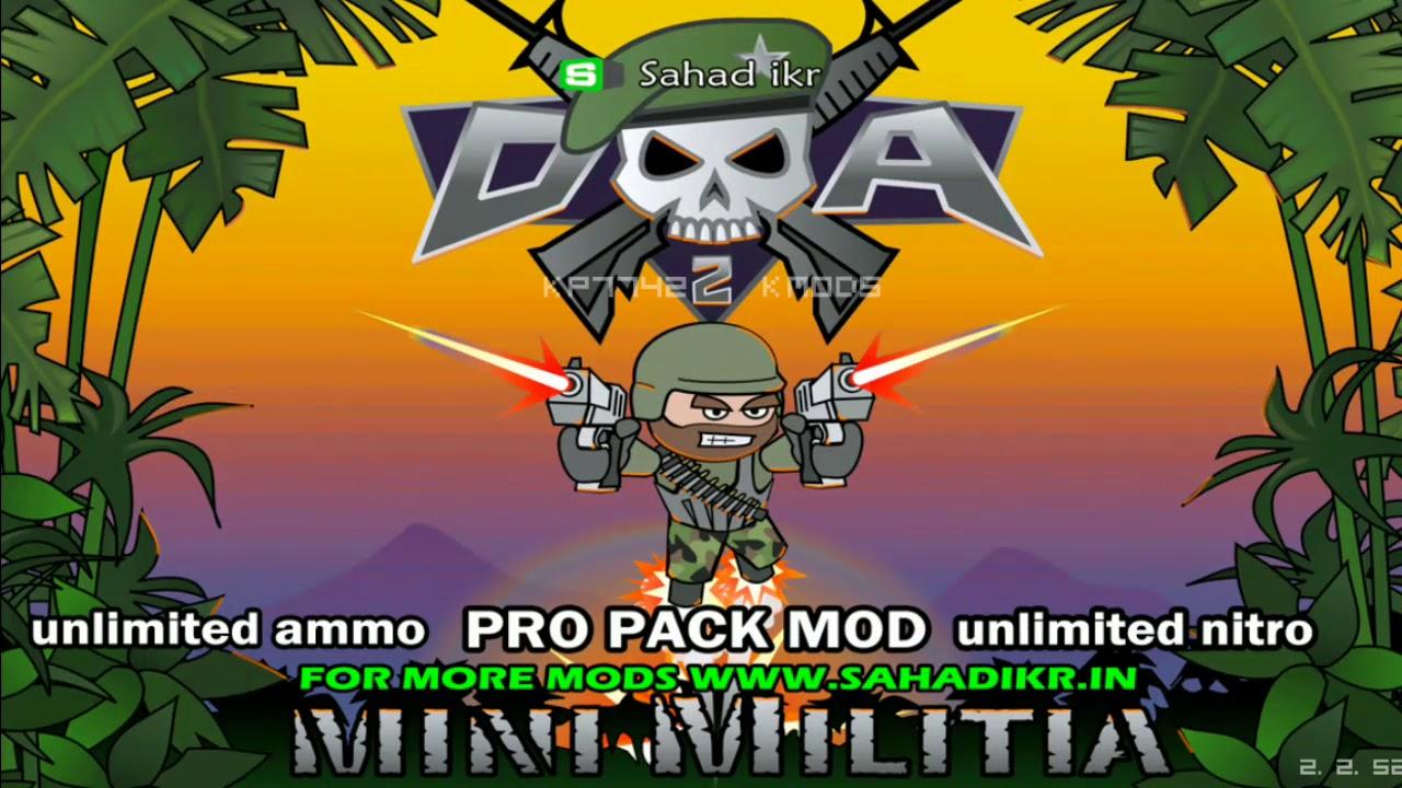 mini militia mod by sahad ikr