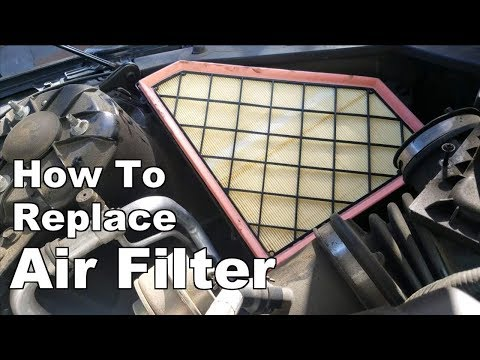 How to Replace Air Filter On 2013-2016 Cadillac ATS 2.0L
