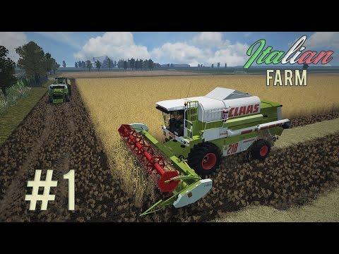 Italian FARM - Trebbiamo il riso #1