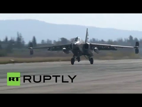 Syria: Russian jets take off for sorties from Hmeymim air base