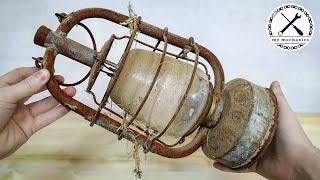 Barn Find Oil Lamp - Perfect Restoration
