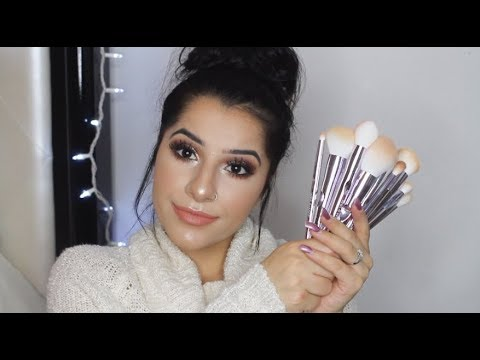 Wet & Wild Pro Brush Set Review + Demo | HIT OR MISS? | Glaaamz