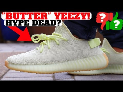 ADIDAS YEEZY BOOST 350 V2 BUTTER REVIEW! (HYPE DEAD?)