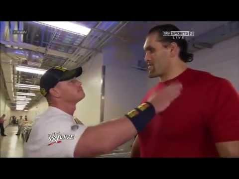 John Cena Speaking Hindi Punjabi With The Great Khali