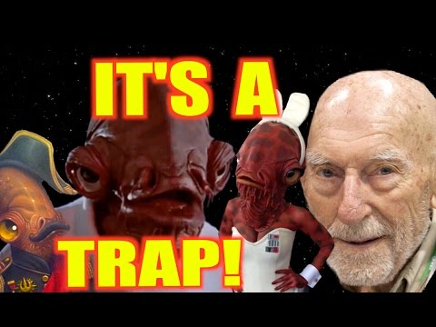 "Admiral Ackbar actor performs ""IT'S A TRAP!"" in 8 different styles!"