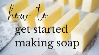 Complete Beginners Guide t๐ Soapmaking