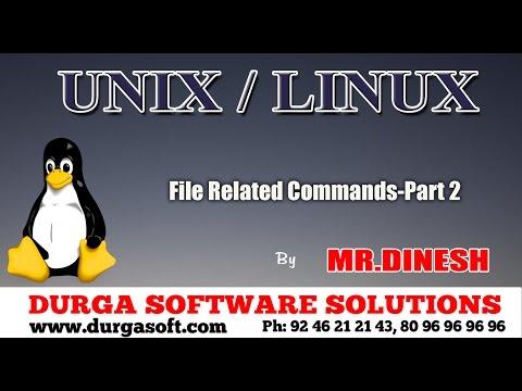 Unix/Linux-File Related Commands-Part 2