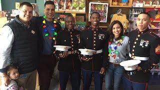 ABC7 spreads some holiday cheer by donating to Toys for Tots