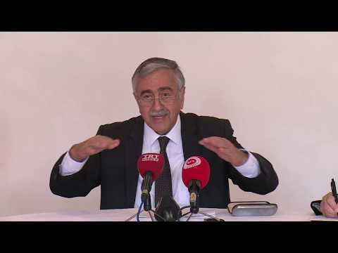 Cumhurbaşkanı Akıncı, Crans Montana Kıbrıs Konferansını değerlendirdi.