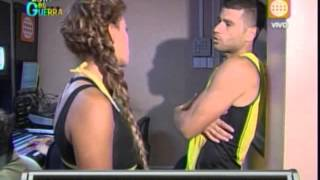 Repeat youtube video Esto es Guerra: Yaco salva a Natalie de sentencia - 12/04/2013