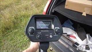 Что можно найти в первый день с металлоискателем MD 4030
