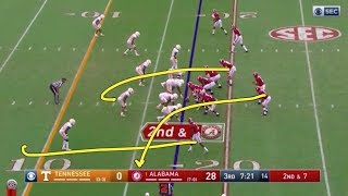 Studying Tua: 12 throws vs Tennessee