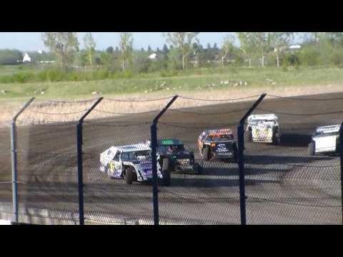 Jamestown Speedway Wissota MW Modified Heats (5/13/17)