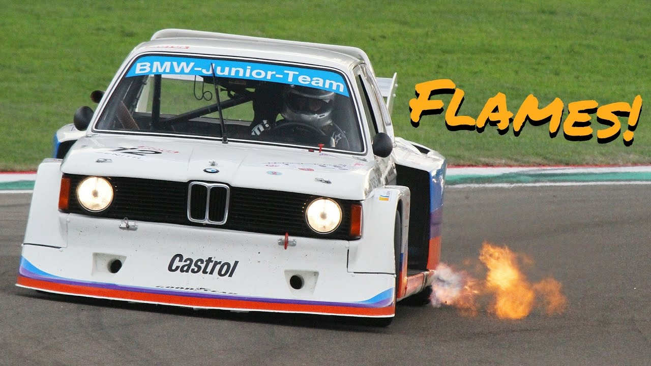 Bmw 320i Turbo Gr5 1977 Accelerations Flames Fly Bys Pure