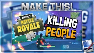 How To Make a Professional Fortnite Thumbnail With Paint.net For Free! v2
