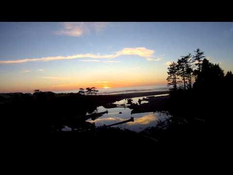 Ocean Sunset At Kalaloch Lodge - Olympic National Park