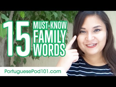 Learn the Top 20 Must-Know Family Words in Portuguese