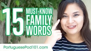 Baixar Learn the Top 20 Must-Know Family Words in Portuguese