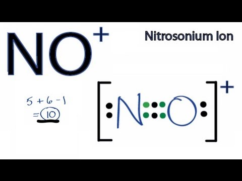 NO+ Lewis Structure: How to Draw the Lewis Structure for NO+