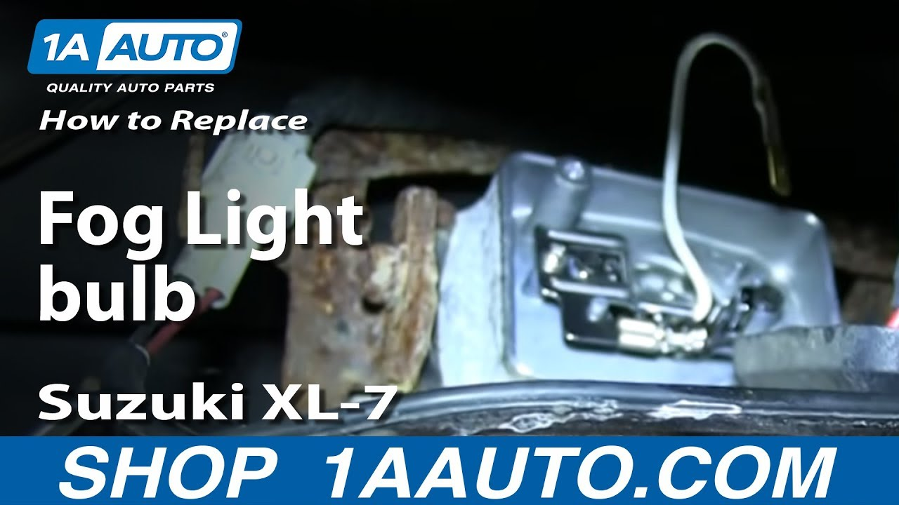 Suzuki Xl Headlight Replacement