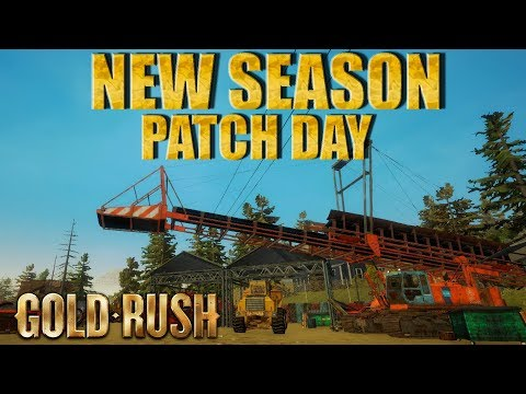 gold rush the game patch day season 2 youtube. Black Bedroom Furniture Sets. Home Design Ideas