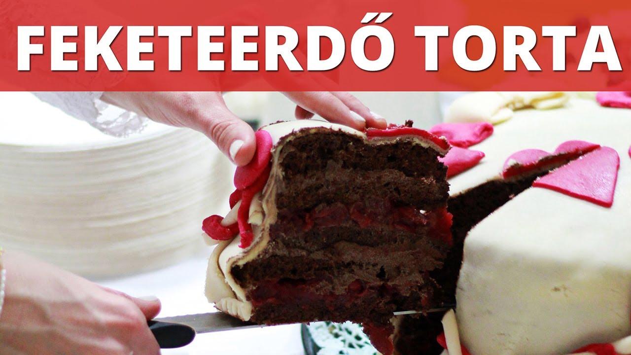 feketeerdő torta képek Marcipános feketeerdő torta videó recept   YouTube feketeerdő torta képek